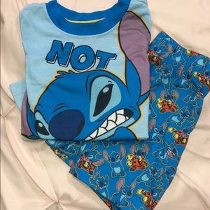 Disney Stitch PJ Set